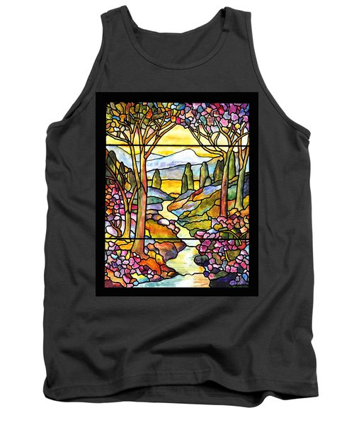 Tiffany Landscape Window Tank Top