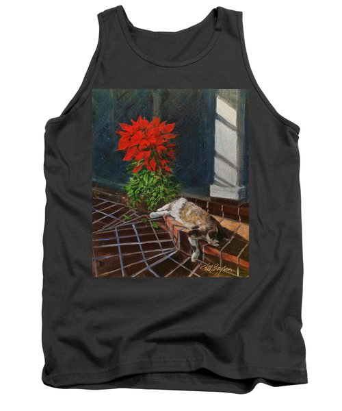 Tiger Lily In Repose Tank Top