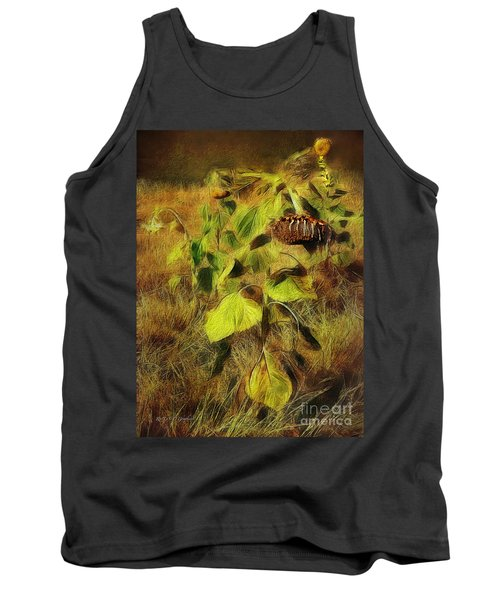 Time Is The Enemy Tank Top