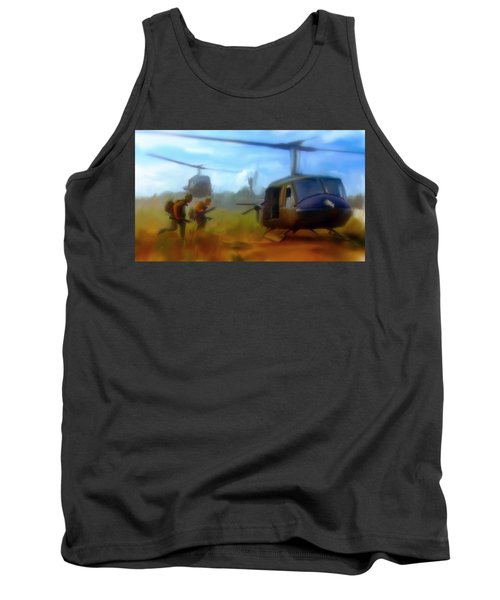Time Sacrificed II Vietnam Veterans  Tank Top