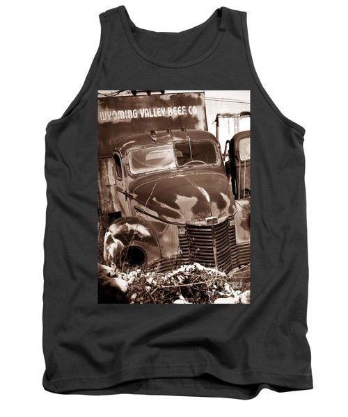 Time Traveler Pennsylvania Ave Wilkes Barre Pa Tank Top
