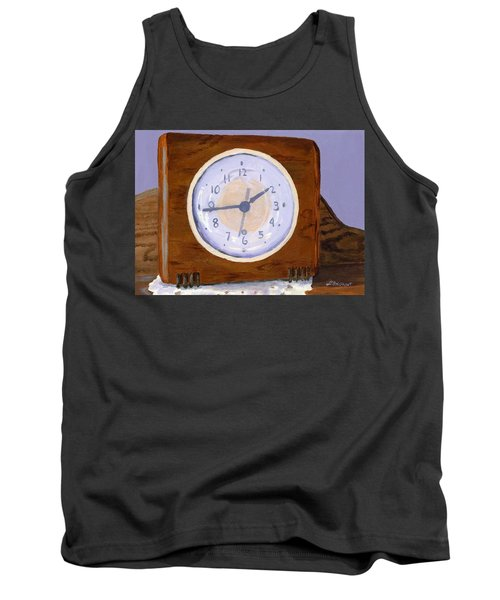 Tank Top featuring the painting Time Will Tell by Lynne Reichhart