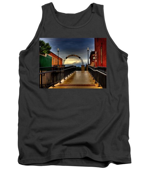 To Main Street Waupaca Tank Top
