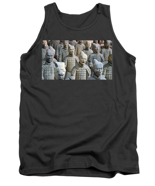 Tank Top featuring the photograph Tomb Warriors by Robert Meanor