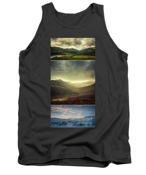 Tombstone Range Seasons Vertical Tank Top