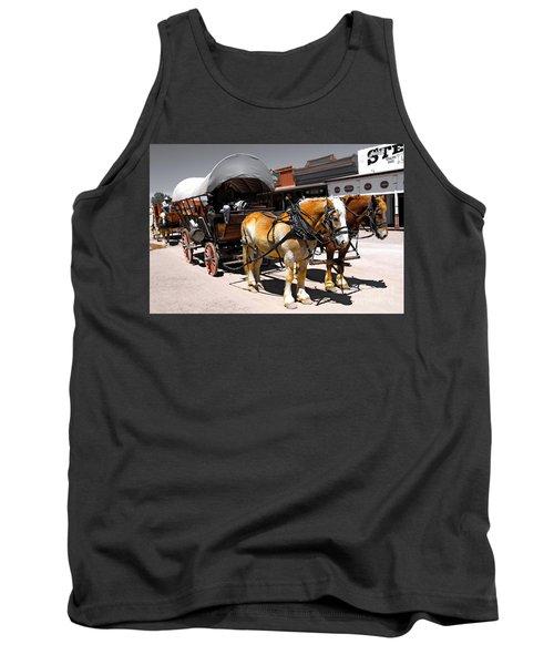 Tombstone Wagon Tank Top