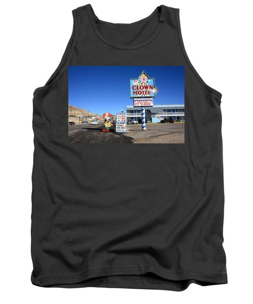 Tonopah Nevada - Clown Motel Tank Top