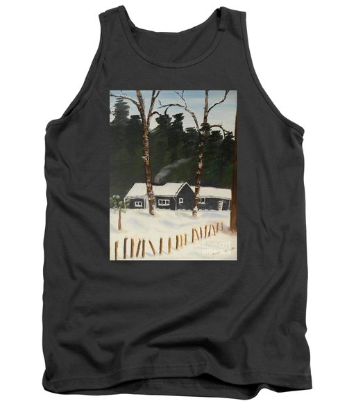 Tonys House In Sweden Tank Top by Pamela  Meredith