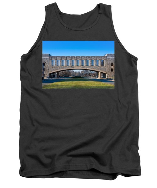 Torgersen Hall At Virginia Tech Tank Top by Melinda Fawver