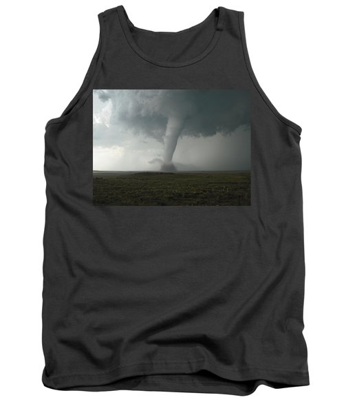 Tornado In The High Plains Tank Top by Ed Sweeney