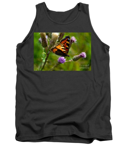 Tortoise Shell Butterfly Tank Top