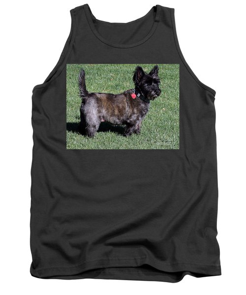 Toto's Sister Sweetpee Tank Top by Jay Milo