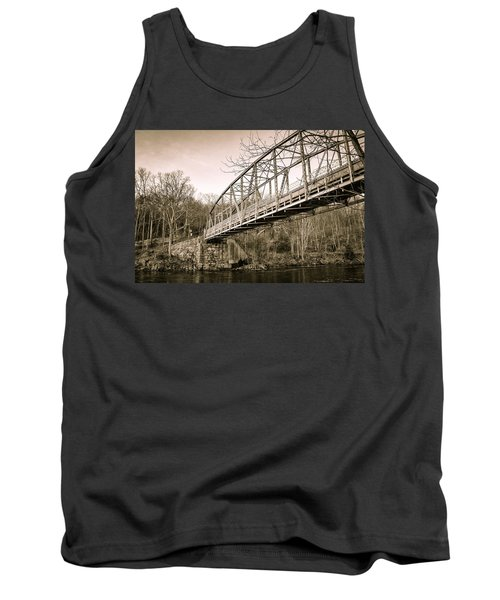 Town Bridge Collinsville Connecticut Tank Top