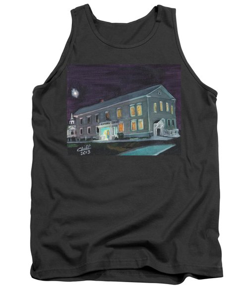 Town Hall At Night Tank Top