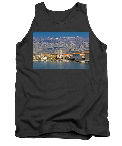 Town Of Vinjerac Waterfrot View Tank Top by Brch Photography