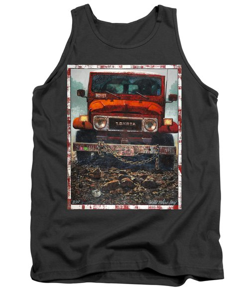 Toyota Tank Top by Blue Sky