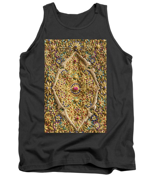 Traditional Embroidery In Jerusalem Israel Tank Top