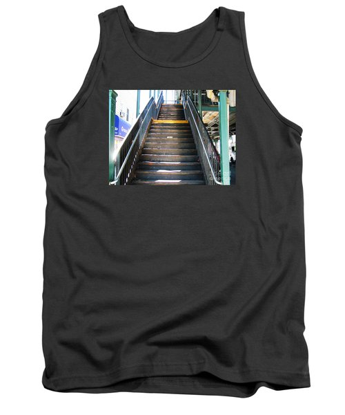 Train Staircase Tank Top