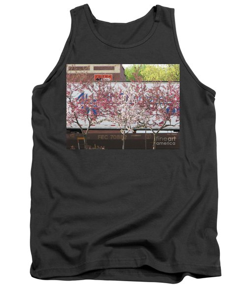 Tank Top featuring the photograph Train Tracks by Michael Krek