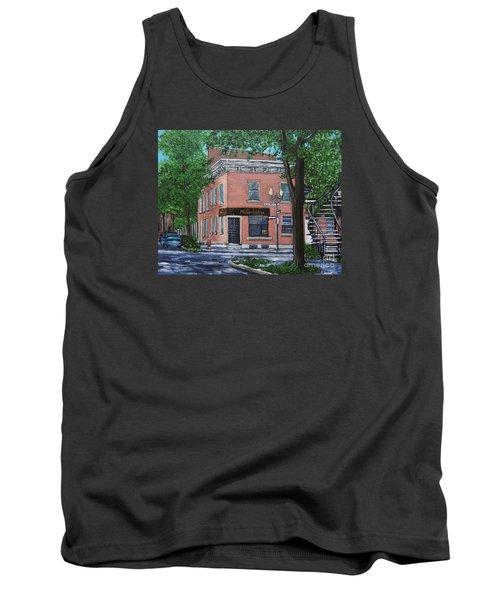 Traiteur Mesa Latina  Tank Top by Reb Frost