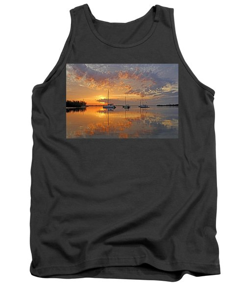 Tranquility Bay - Florida Sunrise Tank Top