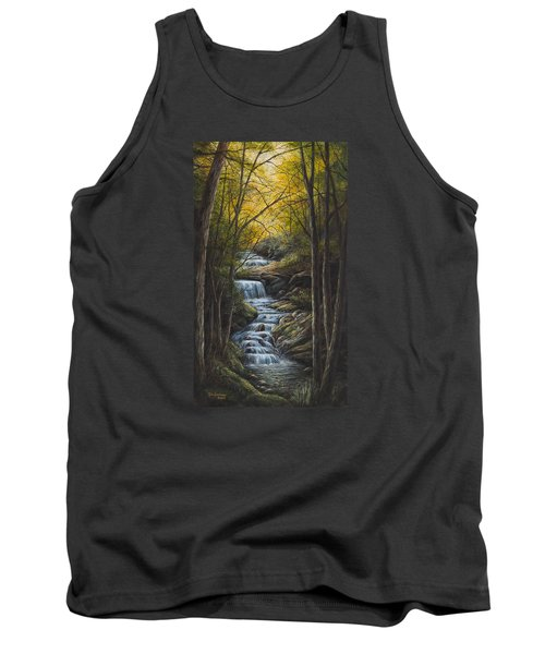 Tranquility Tank Top by Kim Lockman