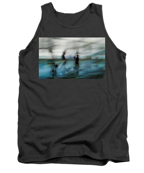 Tank Top featuring the photograph Travel Blues by Alex Lapidus