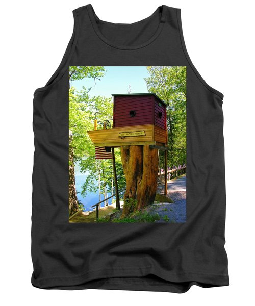 Tree House Boat Tank Top