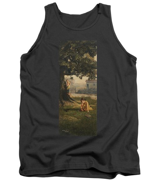 Tree House Tank Top by Duane R Probus
