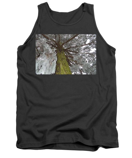 Tank Top featuring the photograph Tree In Winter by Felicia Tica
