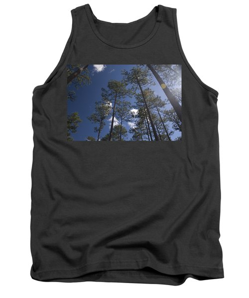 Tank Top featuring the photograph Trees And Nature by Charles Beeler