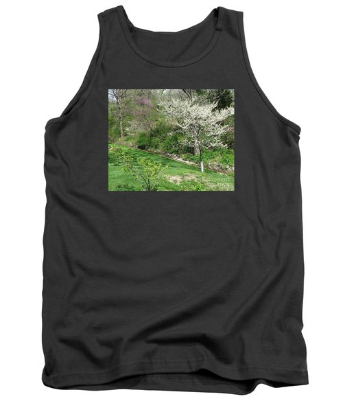 Trees Of Early Spring Tank Top