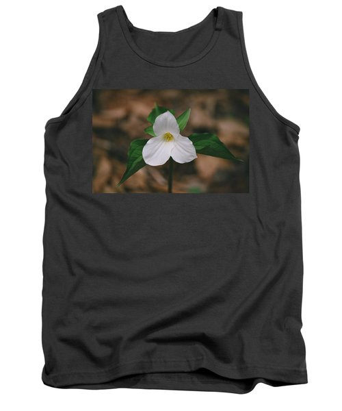 Tank Top featuring the photograph Trillium by David Porteus
