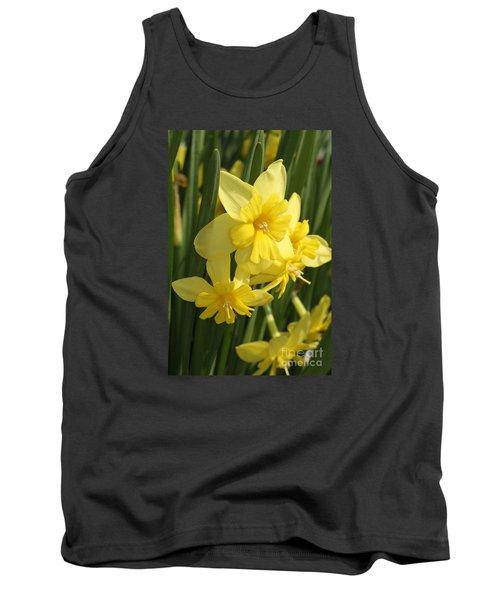 Tripartite Daffodil Tank Top by Judy Whitton