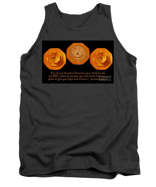 Triple Eight Octagon Saucers With Jeremiah Twenty Nine Eleven On Black Tank Top