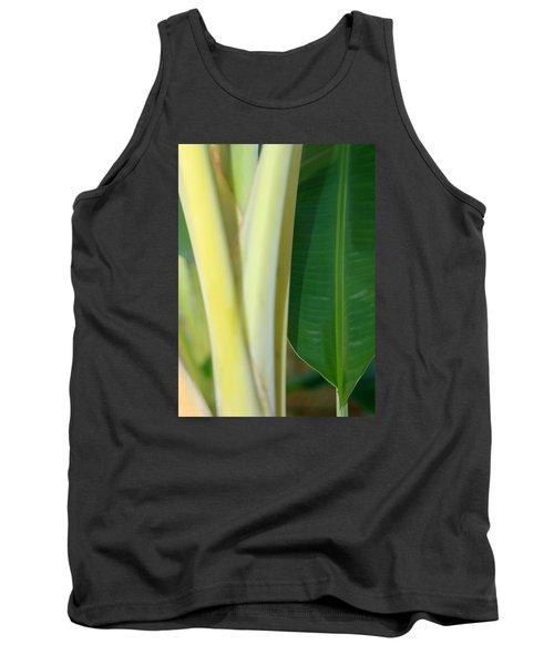Tropical Banana Tree Tank Top