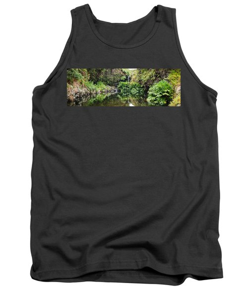 Tropical Reflections Tank Top by Denise Bird