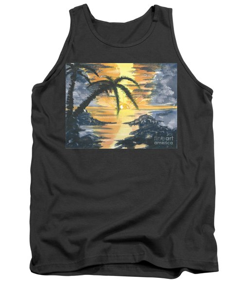 Tropical Sun Tank Top