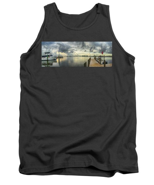 Tropical Winds In Orange Beach Tank Top by Michael Thomas