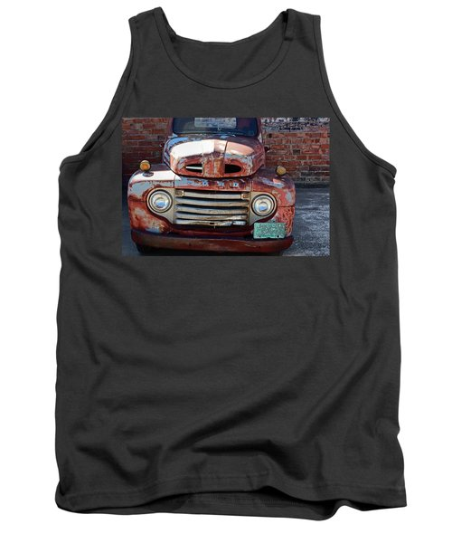 Ford In Goodland Tank Top by Lynn Sprowl