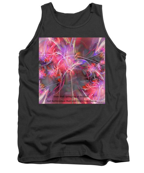 Truth Shall Spring Out Tank Top by Margie Chapman
