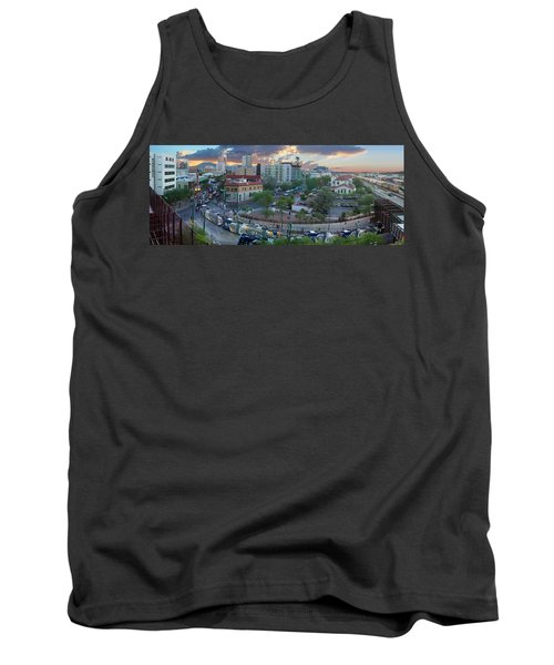 Tucson Streetcar Sunset Tank Top