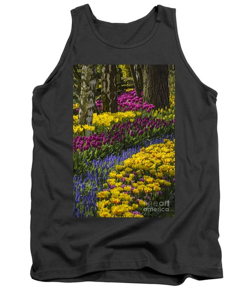 Tulip Beds Tank Top by Sonya Lang