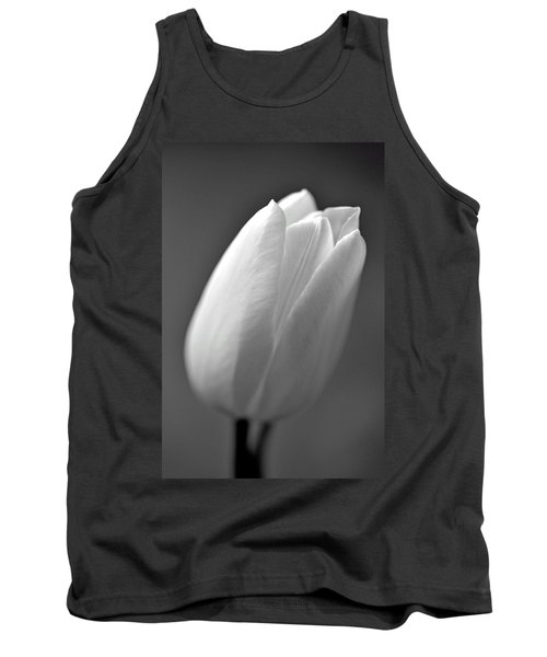 Tulip In Black And White Tank Top