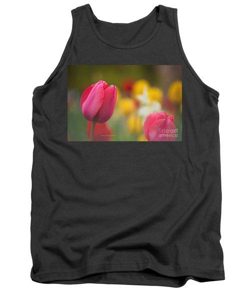 Tulips Blooming Tank Top