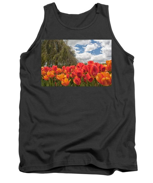 Tulips Tank Top by Brian Caldwell