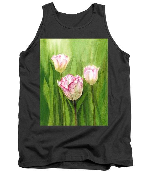 Tulips In The Fog Tank Top