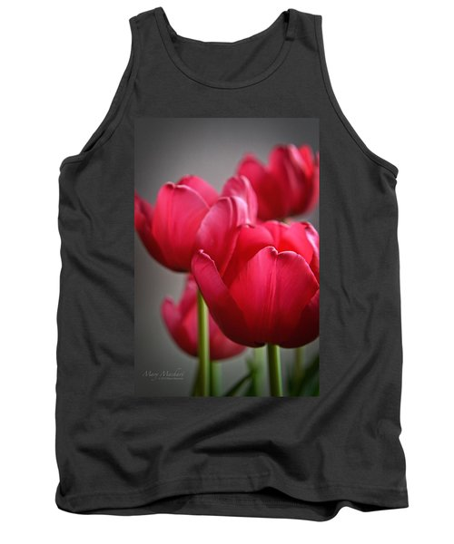 Tulips In The  Morning Light Tank Top