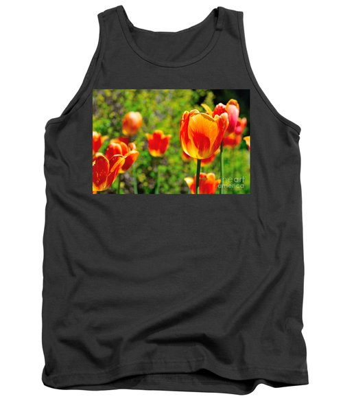 Tank Top featuring the photograph Tulips by Joe  Ng