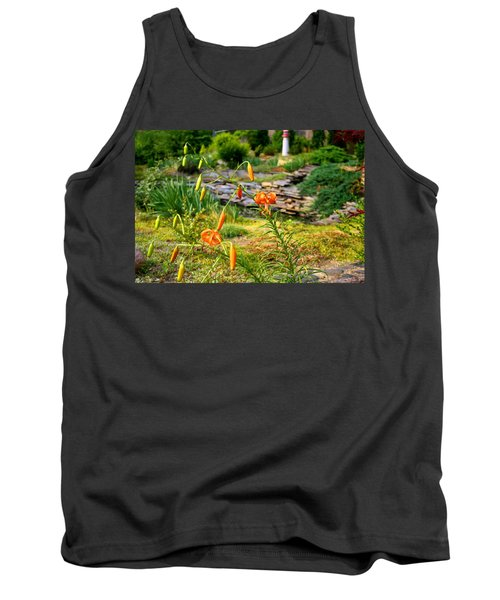 Tank Top featuring the photograph Turk's Cap Lily by Kathryn Meyer